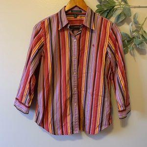 Lauren Ralph Lauren Multicolored Stripped Shirt